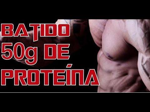 Batido para aumentar masa muscular - 50g de proteína   Adicto Al Fitness