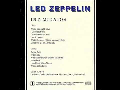 How Many More Times - Led Zeppelin (live Montreux 1970-03-07)
