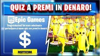 VINCI SOLDI VERI CON IL NUOVO QUIZ DI FORTNITE! + EVENTO VULCANO/LOOT LAKE! (fortnite stagione 8)