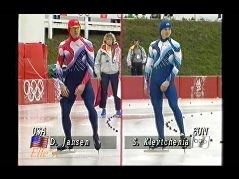 Winter Olympic Games Albertville 1992 - 500 m Klevchenya - Jansen