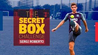 THE SECRET BOX CHALLENGE | Sergi Roberto