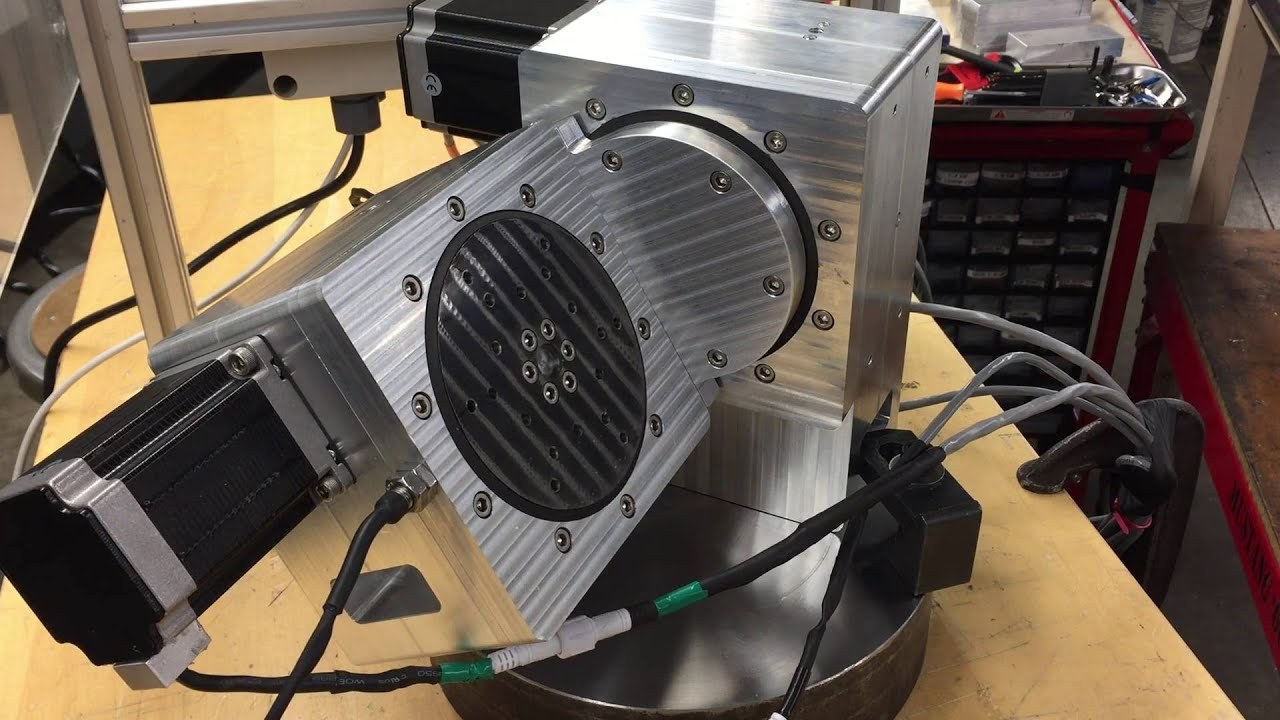 Diy 5th Axis Cnc Rotary Table Youtube
