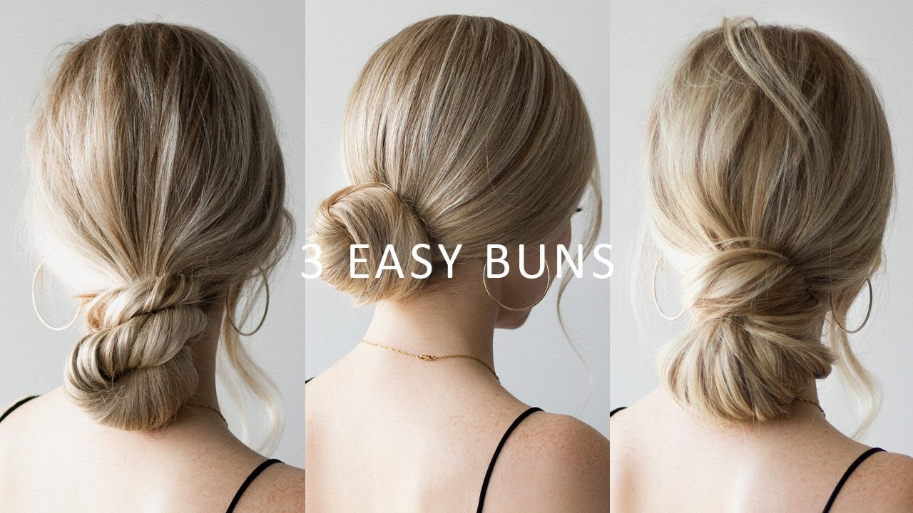HOW TO: 10 EASY Low Bun Hairstyles 💕 Perfect for Prom, Weddings, Work