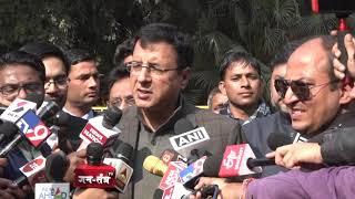 Randeep Singh Surjewala addresses media on Rafale Deal Scam