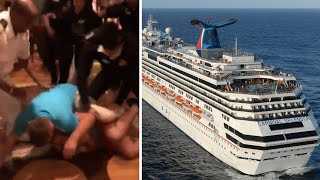 Massive brawls break out on South Pacific Carnival cruise; Concussion blood test - 02/19/2018