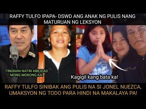 BISTADO NA! RAFFY TULFO IPINA-DSWD ANG ANAK NI JONEL NUEZCA! NANGGIGIL SI IDOL SA PAMILYA NG PULIS! -  (2020)