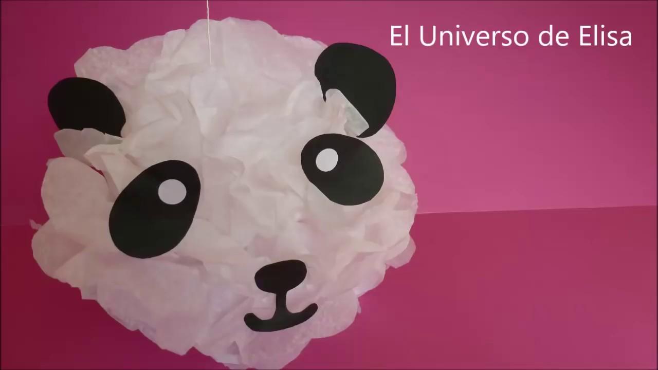 Decoracion Oso Panda Decoracion Facil Y Economica Para Cumpleanos