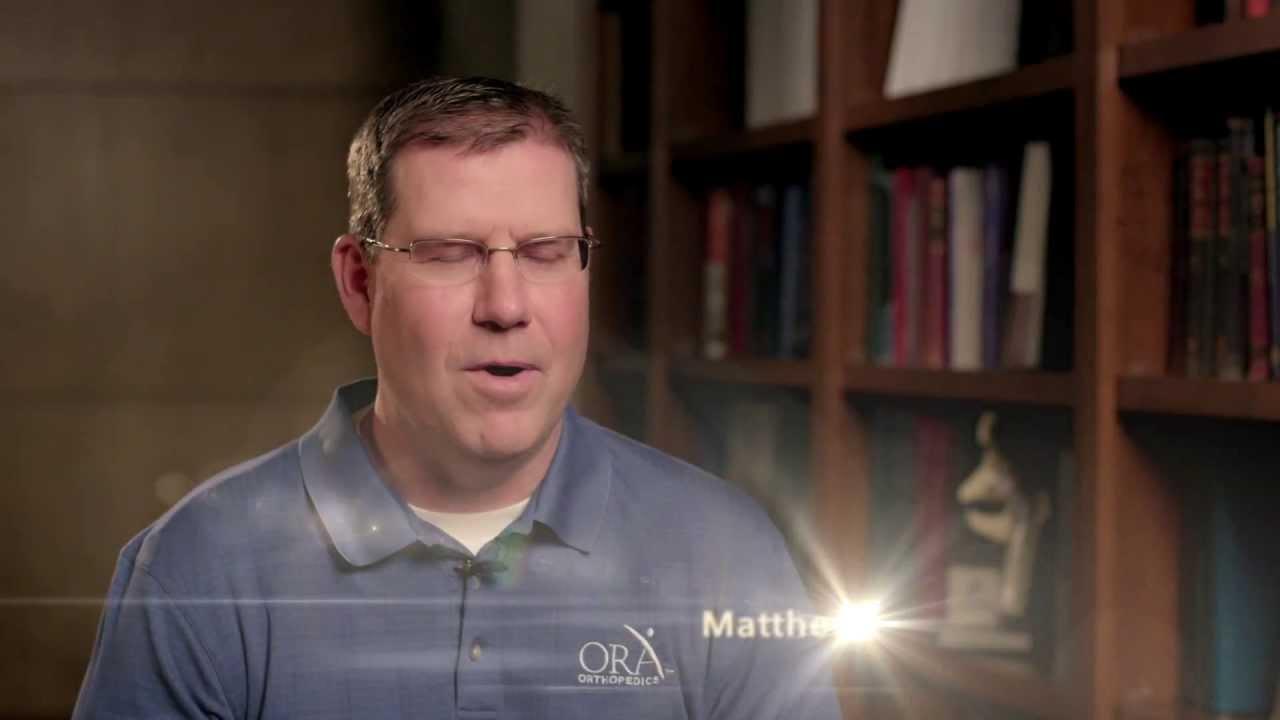 About Quad City ORA Orthopedics' Surgeon, Dr  Matthew Lindaman