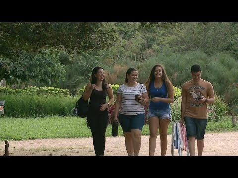 Mês de abril foi o mais quente do século em Porto Alegre | SBT Brasil (30/04/18)