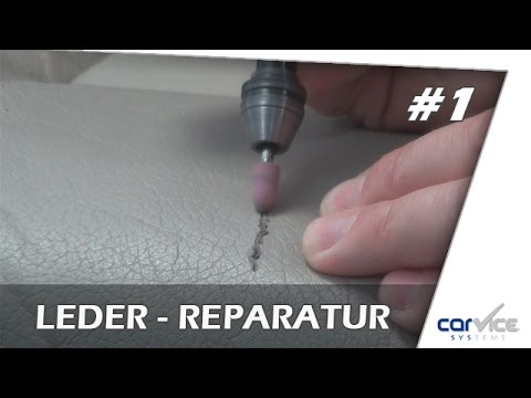 leder und vinylreparatur so geht s teil 1 smart repair kratzer leder youtube. Black Bedroom Furniture Sets. Home Design Ideas