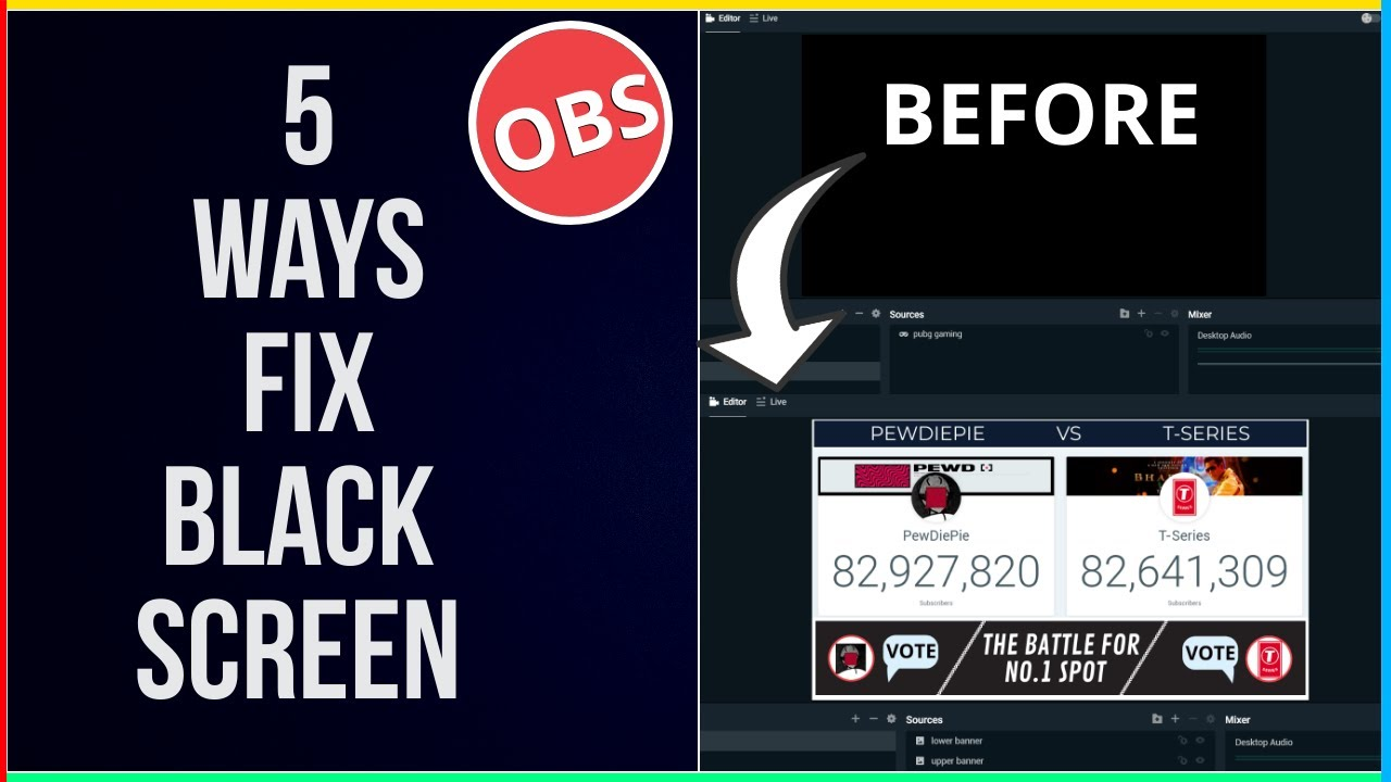 How To Fix Black Screen In Streamlabs OBS 2019