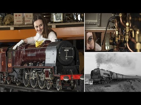 Model Train that Took 10 YEARS to Build is Exact Replica of Duchess of Buccleuch