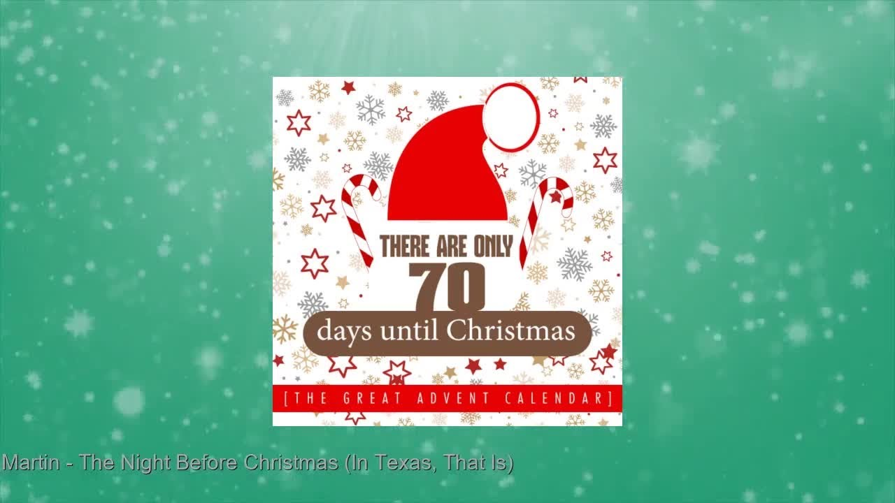 Until Christmas 70 Days Till Christmas.There Are Only 70 Days Until Christmas The Great Advent Calendar