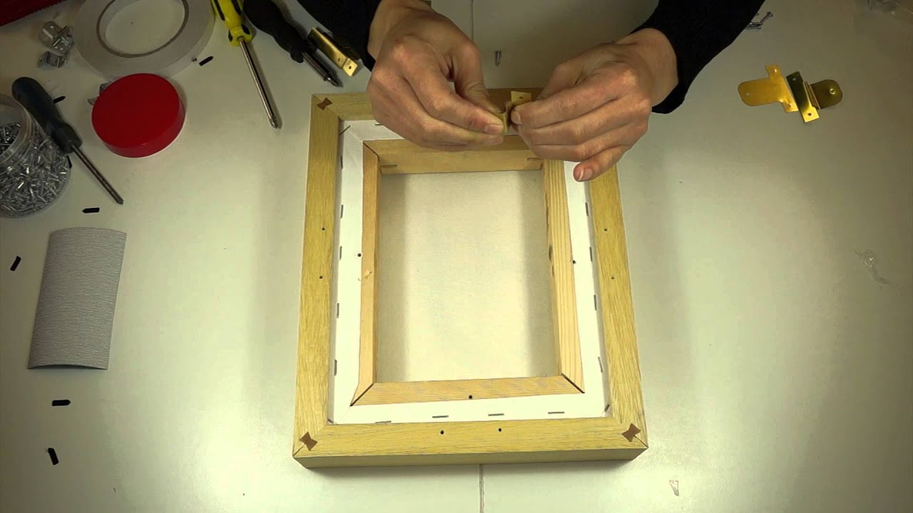 Assembling a Jackson\'s Deep Tray Frame - YouTube