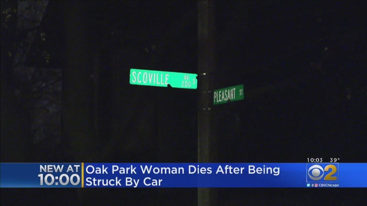 Woman Hit, Killed By Car In Oak Park