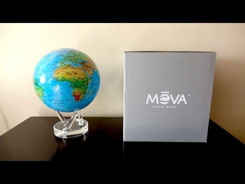 A quick look at the Amazing Mova Globe