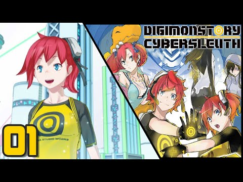 Let's Play Digimon Story: Cyber Sleuth - Episode 1