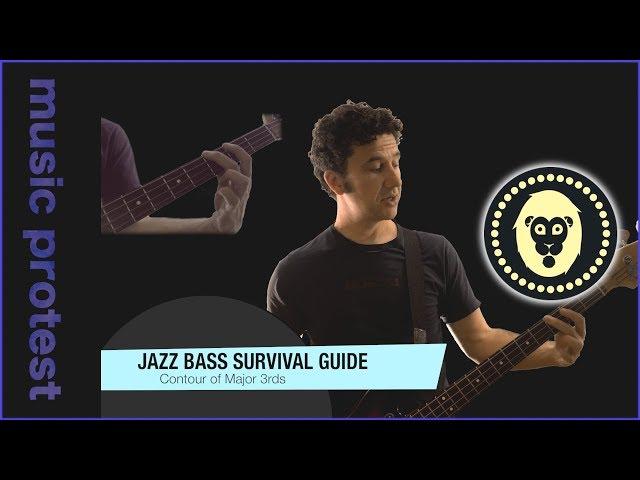 Jazz Bass: Contour of Major 3rds