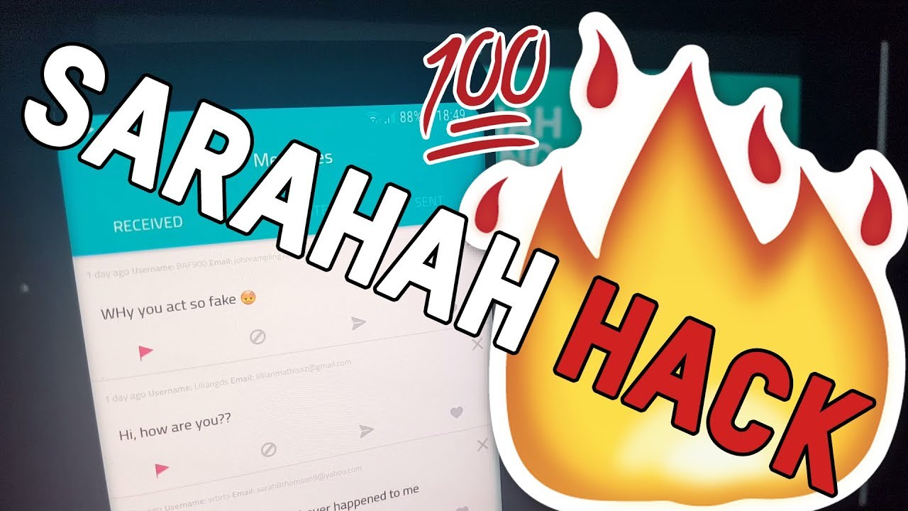 🔎 Sarahah Reveal 😳 - How to use Sarahah Hack to Reveal Users (Android &  iOS)