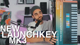 GREAT BUDGET MIDI KEYBOARD! Novation Launchkey MK3 Unboxing, Features, and Making A Track