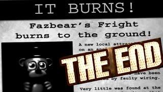 FNAF 3 SECRET NIGHT 6 ENDING! | Five Nights at Freddy