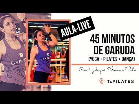 45 Minutos De Uma Prática De Garuda (Yoga + Pilates + Dança) Com Viviane Vales