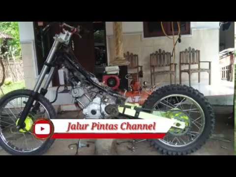 Modifikasi Jupiter Mx Trail Youtube