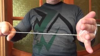 Как голыми РУКАМИ порвать верёвку ! Прикольный  Фокус-трюк.