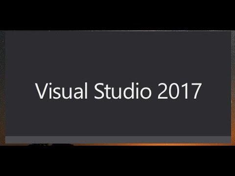 Visual Studio 2017 son sürüm crack ve Tanıtım
