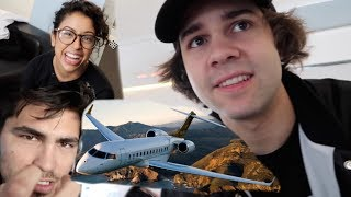 TAKING $40,000 PRIVATE JET FROM NEW YORK TO LA!!