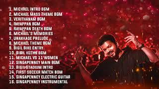 Bigil - Full BGMs | Theme music | AR Rahman | Thalapathy Vijay