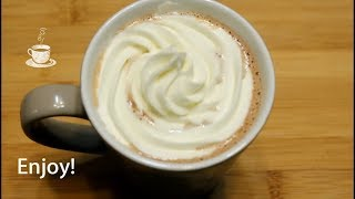 Creamy Rich Hot Chocolate - Hot Cocoa recipe by Cook with Madeeha