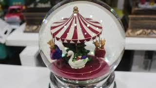 크리스마스 회전목마 워터볼 오르골