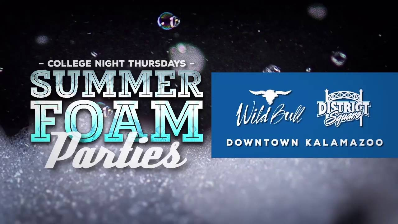 College Night Summer Foam Party: July 7th Edition - YouTube
