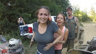 SHE NEVER BEEN MUDDING....LETS GO....MUD CITY....TALL PINES ATV PARK