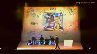 """Sebastian Fitzek """"Das Paket"""" Tour 2016 - Projektionen für die Jubiläumsshow"""