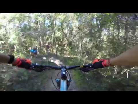 Santos Mountain Bike Trail GoPro Hero 4 filmed at 4k Ocala, FL