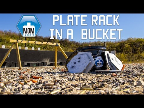 Best Affordable Mobile Steel Targets | Plate Rack in a Bucket | Tactical Rifleman