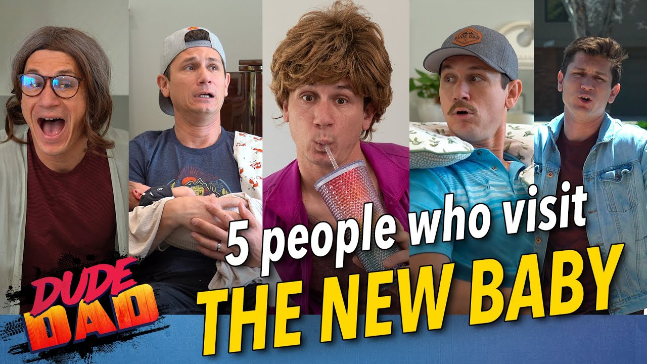 5 People Who Visit The New Baby