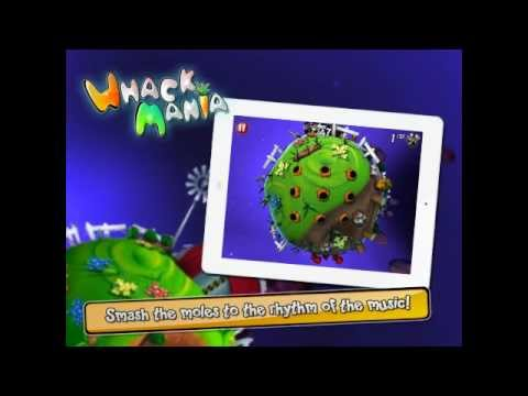 Whack Mania for iPhone / iPad / Android - Official Trailer