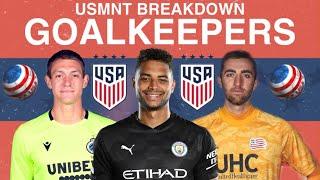 Usmnt goalkeepers breakdown -