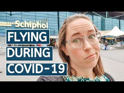 FLYING DURING COVID-19 // Airport Amsterdam Schiphol to Florence Airport