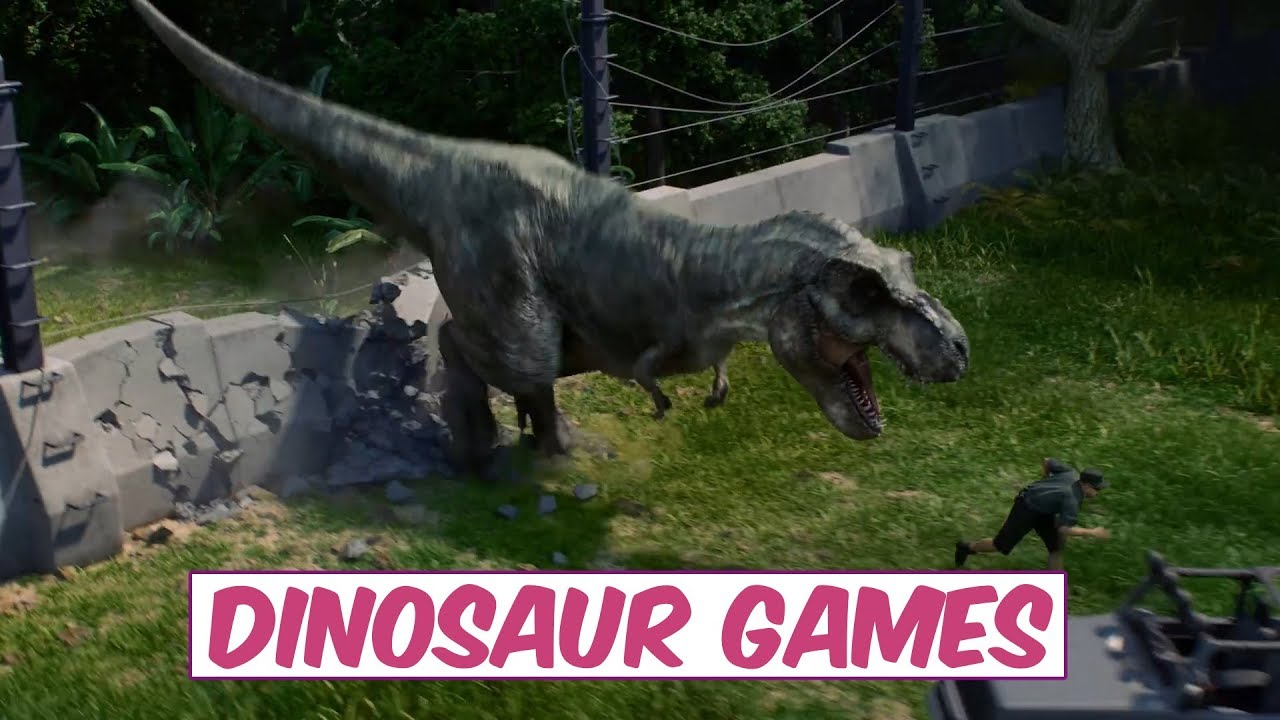 Top 3 Mind Blowing Upcoming Dinosaur Games 2017 2018