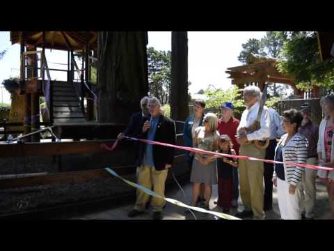 Goat Gazebo Ribbon Cutting