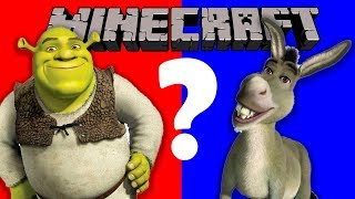 SHREK OR DONKEY?! | Would You Rather Minecraft