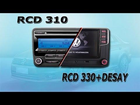 Замена штатной мультимедиа VW на RCD330+desay