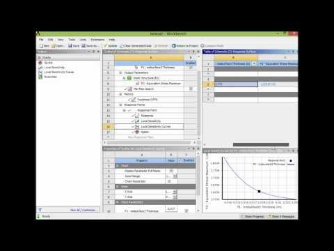 Optimization with Ansys Workbench
