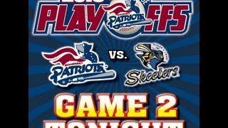 Atlantic League Freedom Division Series Game #2: Somerset Patriots Vs. Sugar Land Skeeters