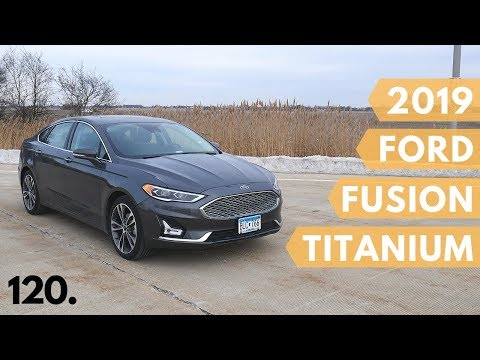 2019 Ford Fusion Titanium with AWD | full review and test drive