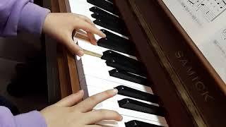 더피아노음악학원 초등1학년 레슨 6개월차
